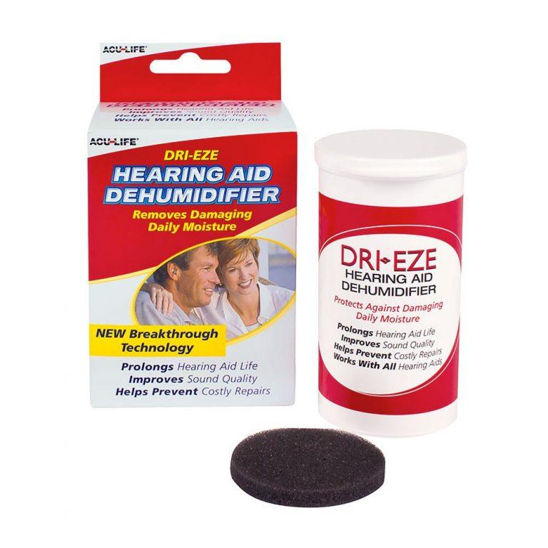 Acu Life Dri Eze Hearing Aid Dehumidifier