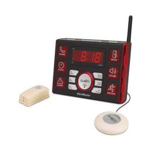 Clarity AL10 Visual Alert System Flashing Light Alarm Clock For Deaf