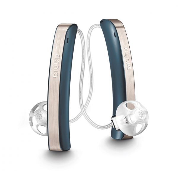 Signia Styletto pair ocean blue rechargeable